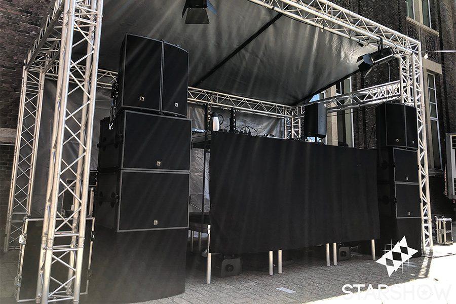 Evenementen - Huren van licht en geluid in Zuid-Holland starshow.nl